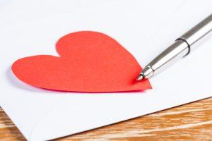 Tekststrategie voor liefdesbrieven