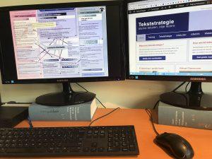 Online werken aan tekstvoorbereiding via het TVF