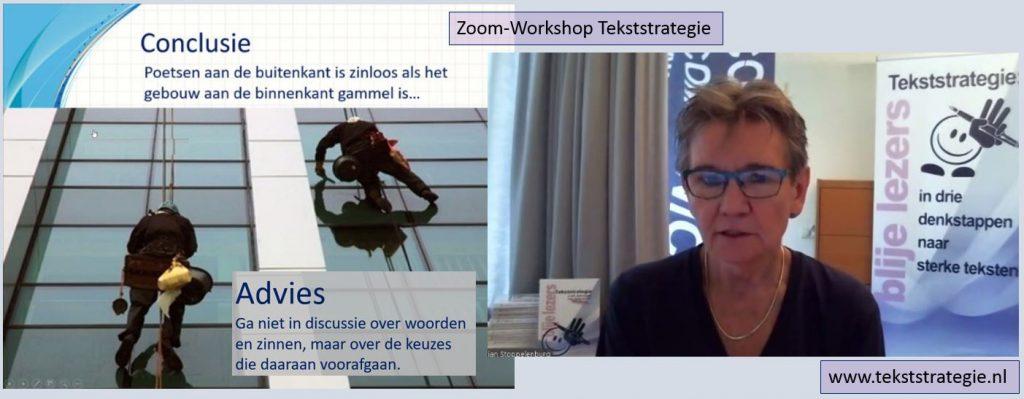 Zoom-Workshop Tekststrategie