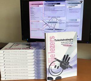 verschillende (digitale) pakketten met cursusmateriaal tekststrategie
